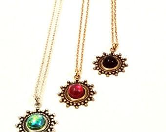 dainty necklace silver necklace delicate necklace dainty gold necklace gold layered necklace unique necklace | Amara dainty necklace