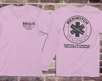 Harry Potter shirt, HP Long Sleeve Shirt, Nurse Shirt, Gift for Nursing Student, Med Student gift, Med Student shirt, Harry Potter Fan gift