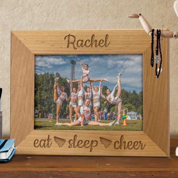 thank you eat eat sleep cheer personalized framecheerleader coach gift parent