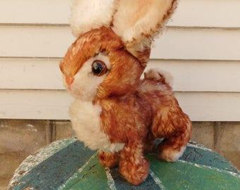 Vintage Steiff Ossi Stuffed Bunny Rabbit Plush Toy, Jack Rabbit, Easter Bunny