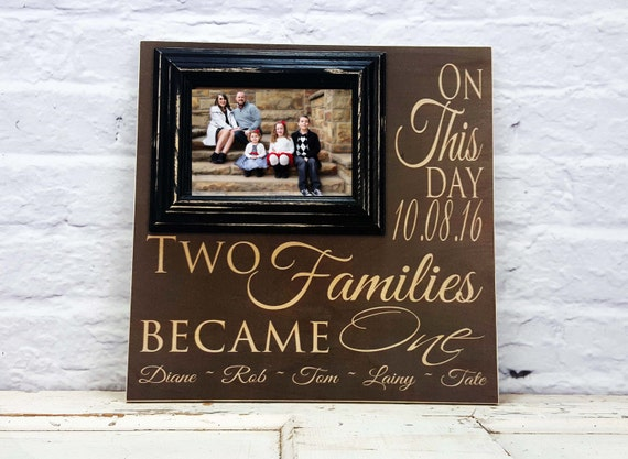Blended Family Gift Wedding Gift Blended Family Sign