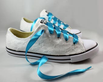 Lace converses bridal converses wedding tennis shoes jpg 340x270 Converse  wedding shoes bb7f15773e