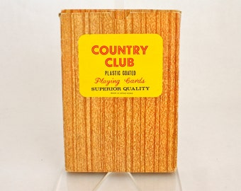 Country Club jumbo playing cards