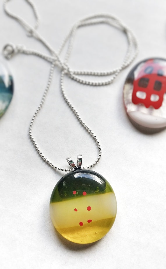Bubble Pendant with Chain