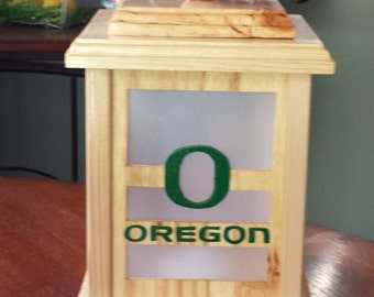 Oregon Ducks Lantern