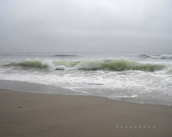 PACIFIC COAST Coastal Photography Print 8.5 x 11 Seaside Coastal Beach Home Seawashed Living Decor