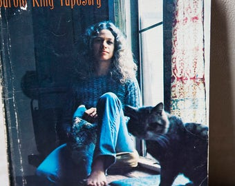 Vintage Carole King Tapestry Sheet Music Song Book