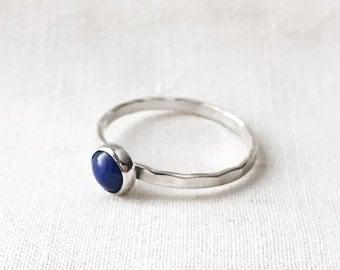 Lapis Lazuli Ring // Sterling Silver