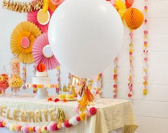Giant Balloons XL 36 Inch Balloon Birthday Balloons White Balloon Large Balloon Birthday Balloons Wedding Balloons Photo Prop Wedding Decor