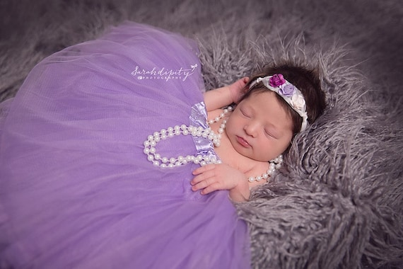 Mulberry Flower Headband on a Tieback made of silk,perfect for all ages, bridesmaid, bride, newborn, by Lil Miss Sweet