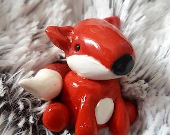 Cute Kawaii Fox Figurine