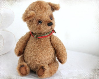 Artist Teddy Cozy Puppy Dog MY OOAK 8,3