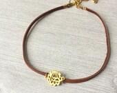 MashAllah Choker Necklace // Muslim Jewelry // Islamic Jewelry // Islamic Gift // Gold MashAllah Necklace / Allah Necklace / Arabic Necklace
