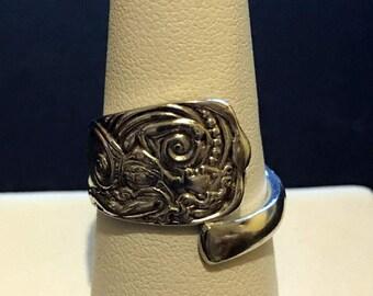 Siren 1891 Demitasse Spoon Ring