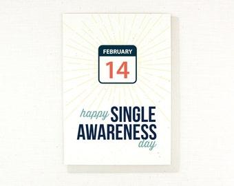Anti Valentine, happy single awareness day, february 14, anti love, single, i hate valentine's day, funny valentine for happily single