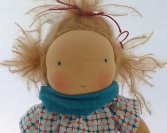 """Jul Doll, 33cm /13"""", Waldorf doll, cuddle doll, doll girl"""