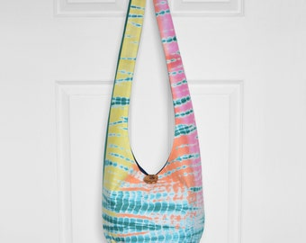 Hobo Bag Boho Bag Cross Body Bag Sling Bag Hippie Purse Bohemian Bag Tapestry Hobo Purse Boho Purse Hippie Bag Handmade Purse Fabric Bag