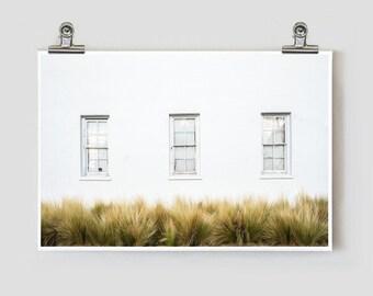 Ballroom Minimalist Marfa Texas Fine Art Photograph