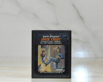 Atari 2600 Maze Craze Game From Atari 1979