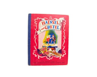1938 HAENSEL AND GRETEL The Story of Humperdink's Opera Metropolitan Opera Guild Hardcover Book