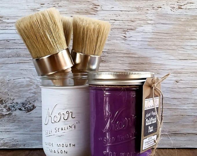 Vintage Boho, Handcrafted Chalk Paint, Purple Haze, DIY Furniture, Boho Gifts, Boho Girl Nursery, Boho Home Decor, Boho Lamp, Boho Kitchen