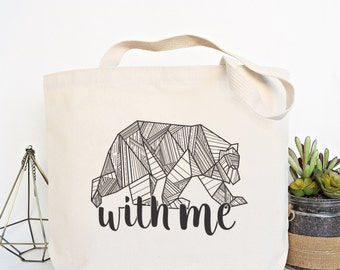Bear With Me Everyday Tote Bag