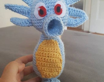Amigurumi Rick And Morty : Mr. Meeseeks Amigurumi from Rick and Morty by CutesyCrocheting