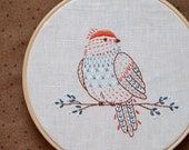 Embroidery pattern PDF, Bird, Hand embroidery, bird embroidery design, bird decor, DIY gift by NaiveNeedle
