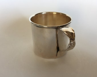 Vintage 50s INTERNATIONAL SILVER Baby Cup
