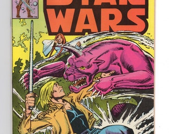 """Marvel Star Wars Comic #36 """"Red Queen Rising"""" - 1980 Star Wars"""