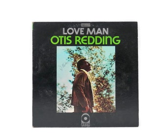 1969 Otis Redding Vinyl Record LP Love Man Gatefold Atco SD33-289 Funk Soul