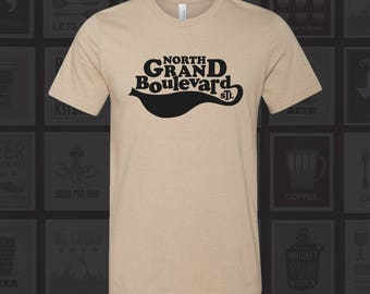 North Grand Blvd - STL City Shirt from Benton Park Prints