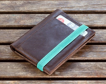 Slim Leather Wallet, minimalist wallet, leather wallet, slim wallet, Shop for gifts