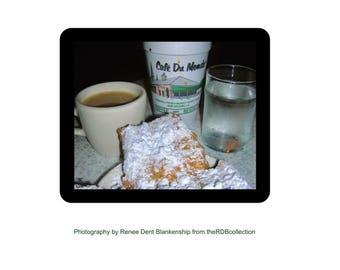Beignets MousePad - Cafe du Monde - New Orleans