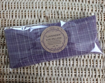 Organic Lavender Eye Pillow