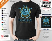 T Shirt of my Guardian Breath of the Wild Legend of Zelda inspired gaming clothing design for Men and Women by Barrett Biggers