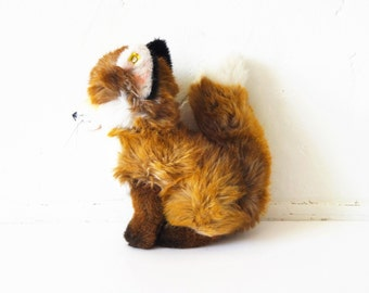 "Vintage Steiff Fox ""Junior Fuzzy"" Stuffed Animal 2892/28"