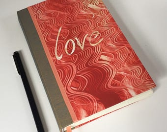 "Coral ""LOVE"" Journal & Sketchbook"
