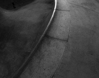 "Skateboarding Photo - Pool Coping - 18X24"" Archival Print"