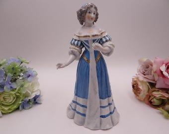 Vintage Carl Thieme Potschappel Madame de Montespan Hand Painted German Figurine