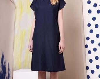 Dress Linear Nightblue