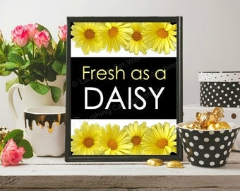 Fresh as a daisy | Etsy