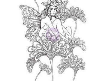 Prima Princesses Cling Stamp Anastasia