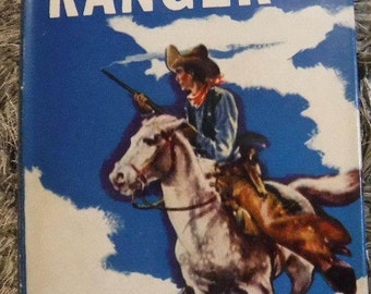 The Lone Ranger - By Fran Striker - Hardcover with Dust Jacket - 1936