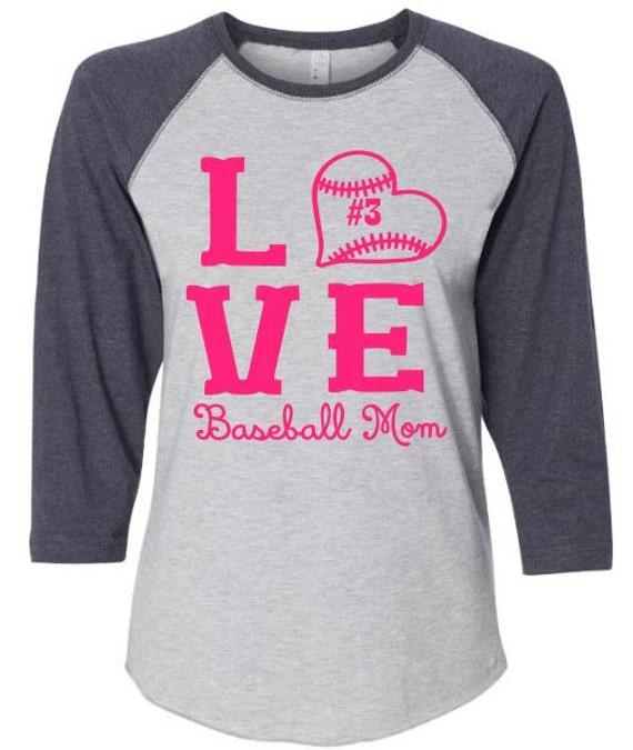 Personalized baseball mom t shirt custom baseball mom shirt for Custom personal trainer shirts