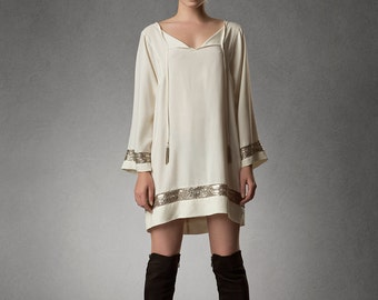 Estyn- SAINT Silk Tunic Dress