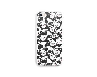 Pandas phone case/cover - cute kawaii animal inspired case for iPhone 7, 7 Plus, iPhone 6, 6s, 6 Plus, iPhone 5, 5s, 5Se