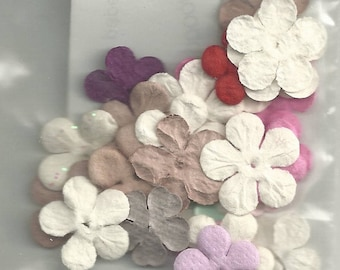 Small Paper Flowers - 2 Dz