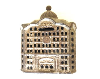 Cast Iron Toy Bank Coin Bank