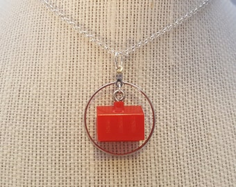 Monopoly Hotel Necklace and Earrings